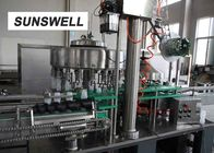 Rinsing Water Recycle Juice Filling Machine For Aluminum Bottle Production Line